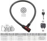 (WB022)鋼鉄ケーブルロックのバイクロック