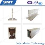 편평한 지붕, 태양 설치 시스템을%s Ballasted 태양 전지판 설치 선반 Ballasted 해결책, 비 훈련 지붕