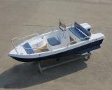 Aqualand 15pies de 4,5 m, 4 personas Panga barco pesquero de fibra de vidrio/barco de motor/Deportes Power Boat (150c)
