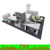 Alluminio modulare portatile Palo di mostra della visualizzazione della cabina della fiera commerciale di DIY