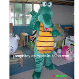 Traje animal da mascote do crocodilo
