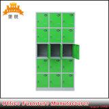 De kleurrijke Kast van het Metaal van het Kabinet van het Personeel van het Staal van het Compartiment van 15 Deur