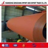 Ral Standardmattfarbe beschichtetes vorgestrichenes Stahl-PPGI Blatt