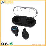 Cordless Mini fone de ouvido Binaural para telemóvel
