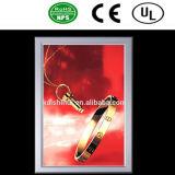 Caixa leve de cristal acrílica do Dobro-Lado do diodo emissor de luz de China