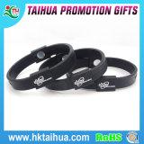 Gravée Bracelet Bracelet en silicone pour la vente de personnalisation