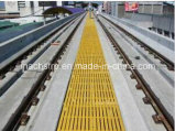 Anti-slipway FRP Molded Grating with H25 25*100 Mesh