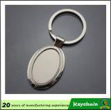De promotie Ster Lege Keychain van het Metaal van de Gift met Gegraveerde de Laser van het Embleem