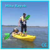 Familia de 3 plazas de la competencia barcos de pesca de Ocean Kayak canoa de plástico