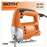 la main électrique en bois de machine de découpage 450W a vu (HD1253A)
