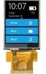 2.8 Индикация TFT LCD с емкостным экраном касания