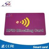 Для защиты от краж щетки 13.56Мгц ПВХ RFID Блокирование карты