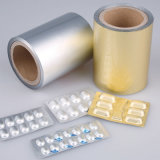 薬剤の使用およびComposited処置によって着色されるAlu Aluのホイル