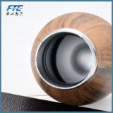 木製カラー薄ら寒いびんの優れたステンレス鋼の水差し