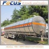 3 Essieu Semi-Trailer chariot du réservoir de carburant en aluminium