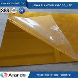 مرسة صفح أكريليكيّ مرنة نوع ذهب صفراء مرسة بلاستيك شفّاف