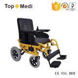 새로운 기대는 편리한 시트 전력 휠체어 Tew888
