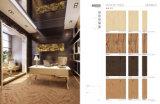 telhas de madeira rústicas da porcelana 600X600 (I6B31-B)