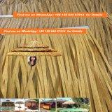 내화성이 있는 합성 종려 이엉 Viro 이엉 둥근 갈대 아프리카 이엉 오두막에 의하여 주문을 받아서 만들어지는 정연한 아프리카 오두막 아프리카 이엉 34