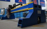 Plasma do CNC da folha de metal e cortador especiais da maquinaria do CNC da máquina de estaca da flama