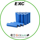 Bateria de drenagem 3.7V 2500mAh 35A 18650 Cylinderical Battery