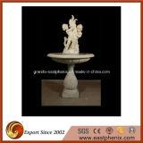 Mármore Natural / Granito Pedra Esculpindo Água Música / Bola Estátua Fonte para Jardim / Parede / Exterior