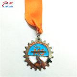 Medaglia liscia personalizzata del metallo dell'oro per lo sport