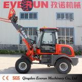 1.6 Tonne Everun Marken-Vertrags-Vorderseite-Typ Rad-Ladevorrichtung mit elektrischem Steuerknüppel