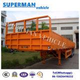 Tipo tri dell'asse dello scompartimento della parete laterale del carico del camion rimorchio del Vietnam semi