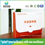 플라스틱 PVC 상자, 문서를 위한 접히는 플레스틱 포장 인쇄 상자