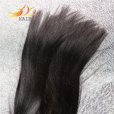 prolonge droite de cheveux humains Remy d'armure péruvienne de cheveu de 100% 8A