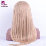 Barato preço Virgem dianteiro da cor de cabelo humano Lace Peruca