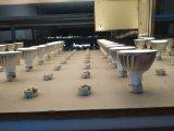 Éclairage 7W d'endroit de DEL GU10 avec des éclairages LED de la haute énergie 7PCS