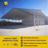 Grande tente en aluminium de bâti avec des revêtements en PVC