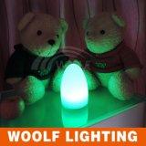 Cambio de color del LED huevo luz de la noche de la decoración del hogar
