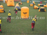 Air Tight Paintball Bunkers, Bardeaux de paintball gonflables à obstacles bon marché K8005