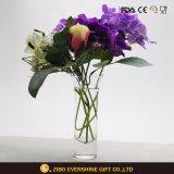 Floreros de cristal claros vendedores calientes de Ikebana