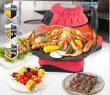 3D BBQ Grill van Infrared Smokeless (ZJLY)