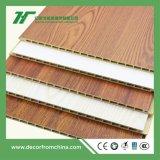 PVC 벽면 대나무 목제 섬유 인조벽판 실내 장식 나무 색깔