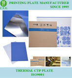 Широкое Tolarance развивая плиты CTP