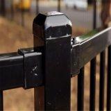 La rete fissa d'acciaio tubolare piana riveste la rete fissa di pannelli tubolare d'acciaio di 25mm x di 25mm
