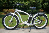 500W neumático Fat bicicleta eléctrica Li-ion EN15194