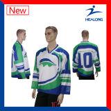 Healongよいデザインスポーツ・ウェアの昇華大学リーグアイスホッケーのワイシャツ