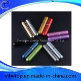 Frascos de vidro do atomizador de alumínio do pulverizador do perfume 12ml