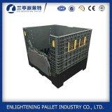boîte à palette en plastique compressible industrielle de 1200X1000X1000mm