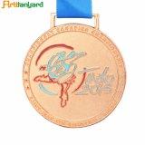 Conception personnalisée Antique Médaille de couleur