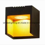 La lámpara de pared caliente de las ventas 3W LED abajo se enciende en IP65