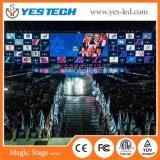 Parede Rental sem emenda do vídeo do diodo emissor de luz do concerto da instalação P3/P4/P5/P6