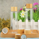 熱い販売50gの木のプラスチック装飾的なタケクリーム色の瓶