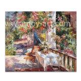卸売のためのハンドメイドのヨーロッパの庭の景色の油絵